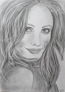 Iveta Veverková obraz portrét 1