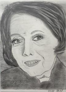 Iveta Veverková obraz portrét 2