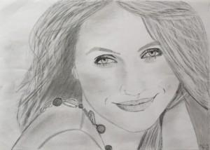 Iveta Veverková obraz portrét 3