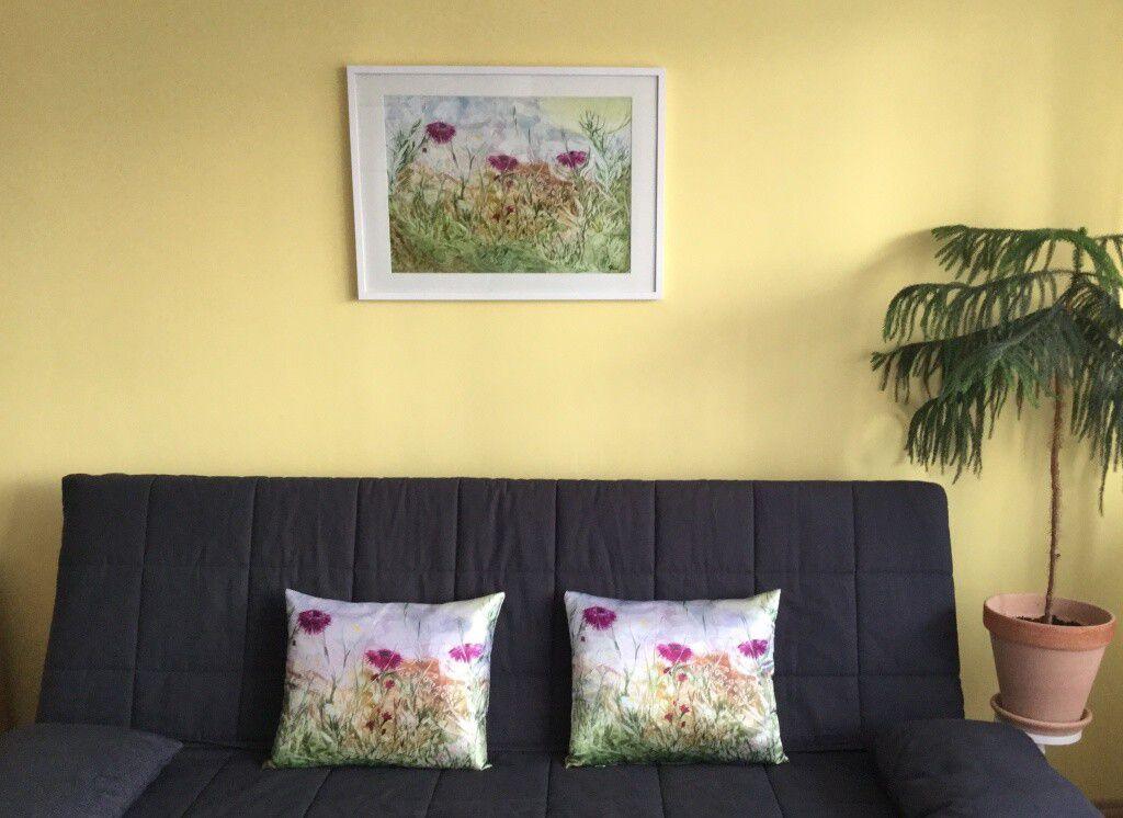 Obraz dominantní prvek v interiéru