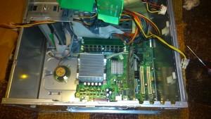 Vyčištěný počítač