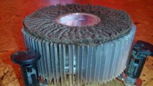Chladič procesoru před čištěním