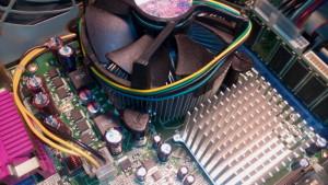 Chladič procesoru po čištění