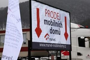 prodej mobilních domů marvel