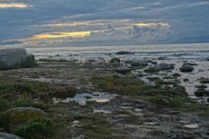 Pláž - Kap Arkona - Rujána Německo