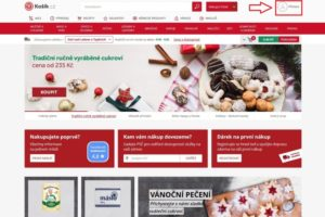 Košík.cz potraviny online - recenze 01