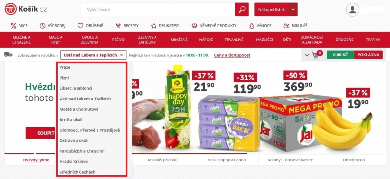 Košík.cz potraviny online - recenze 03