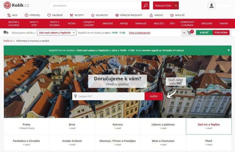 Košík.cz potraviny online - recenze 04