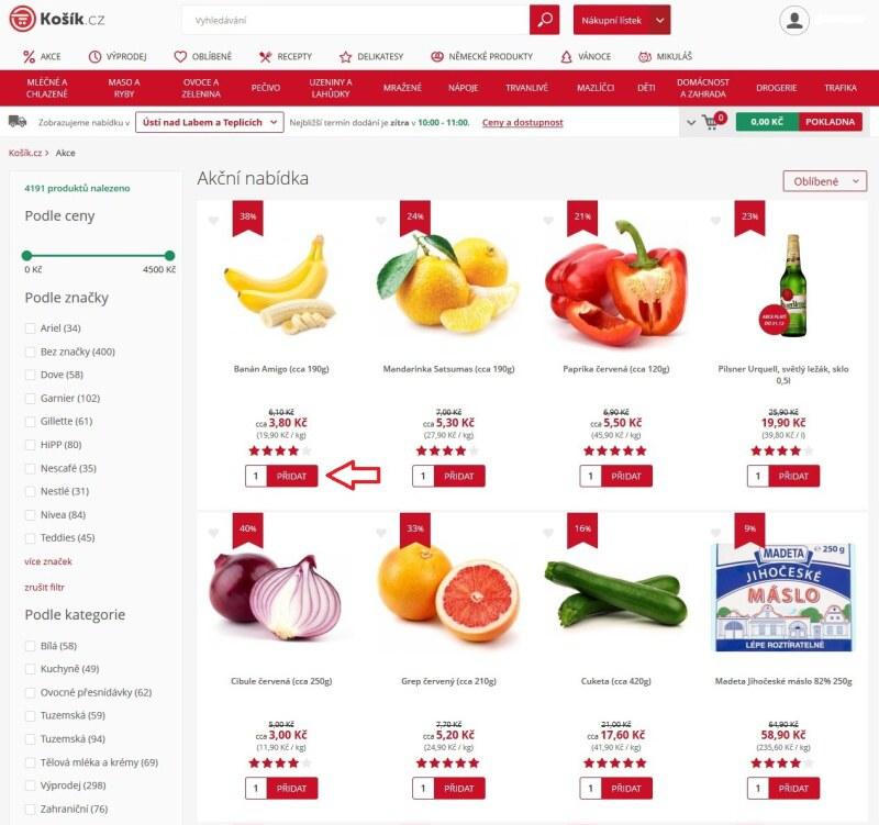 Košík.cz potraviny online - recenze 06