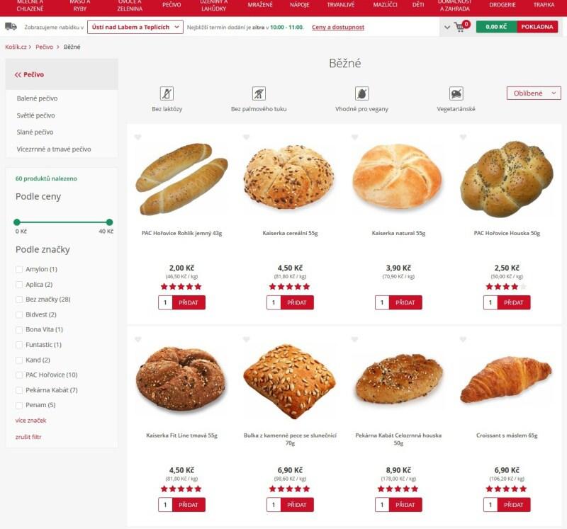 Košík.cz potraviny online - recenze 09