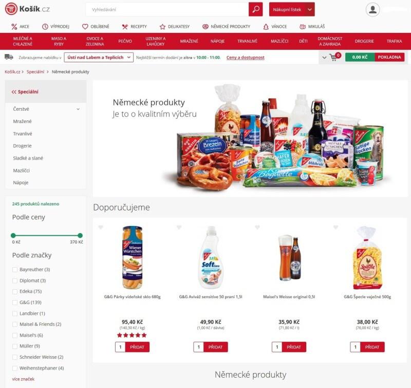 Košík.cz potraviny online - recenze 10