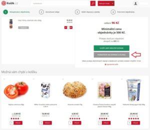 Košík.cz potraviny online - recenze 11