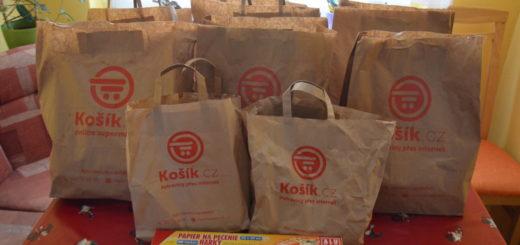 Košík.cz potraviny online - recenze nákupu