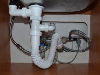 Hadice připojení odpadu od pračky