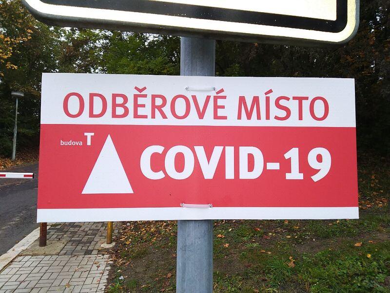 Odběrové místo Covid-19